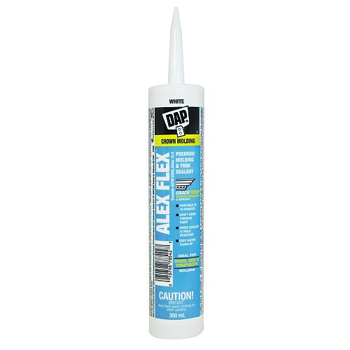 DAP ALEX FLEX Premium Molding & Trim Sealant White 300ml