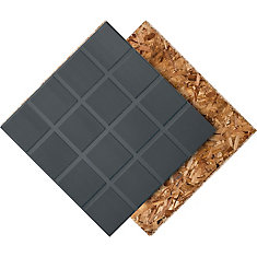23.5 inch x 23.5 inch R+ Insulated Subfloor Panel