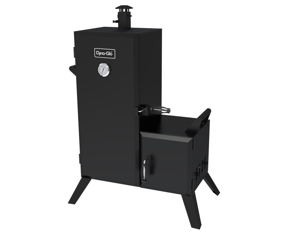 Charcoal Offset Vertical Smoker