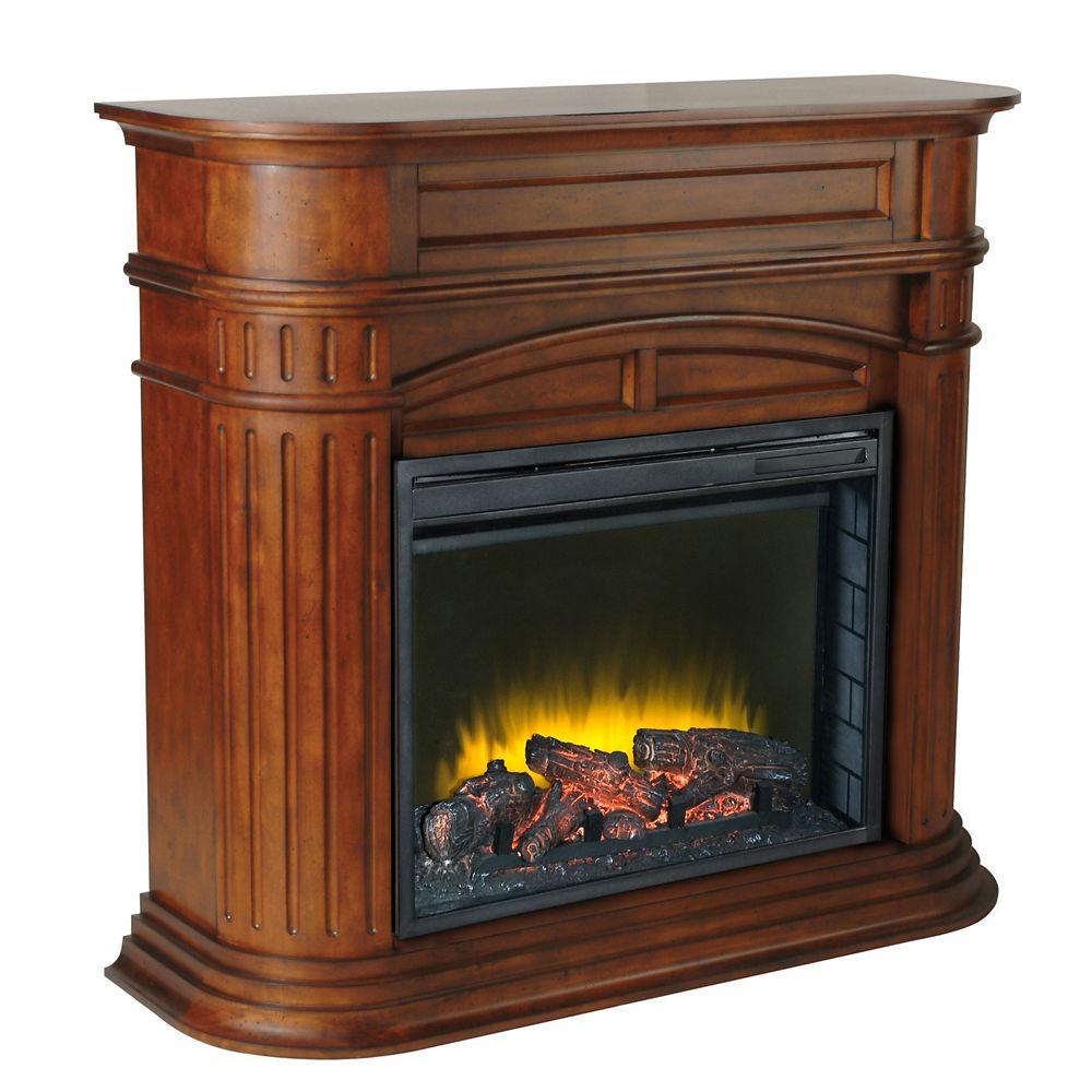 Turin Chestnut Fireplace