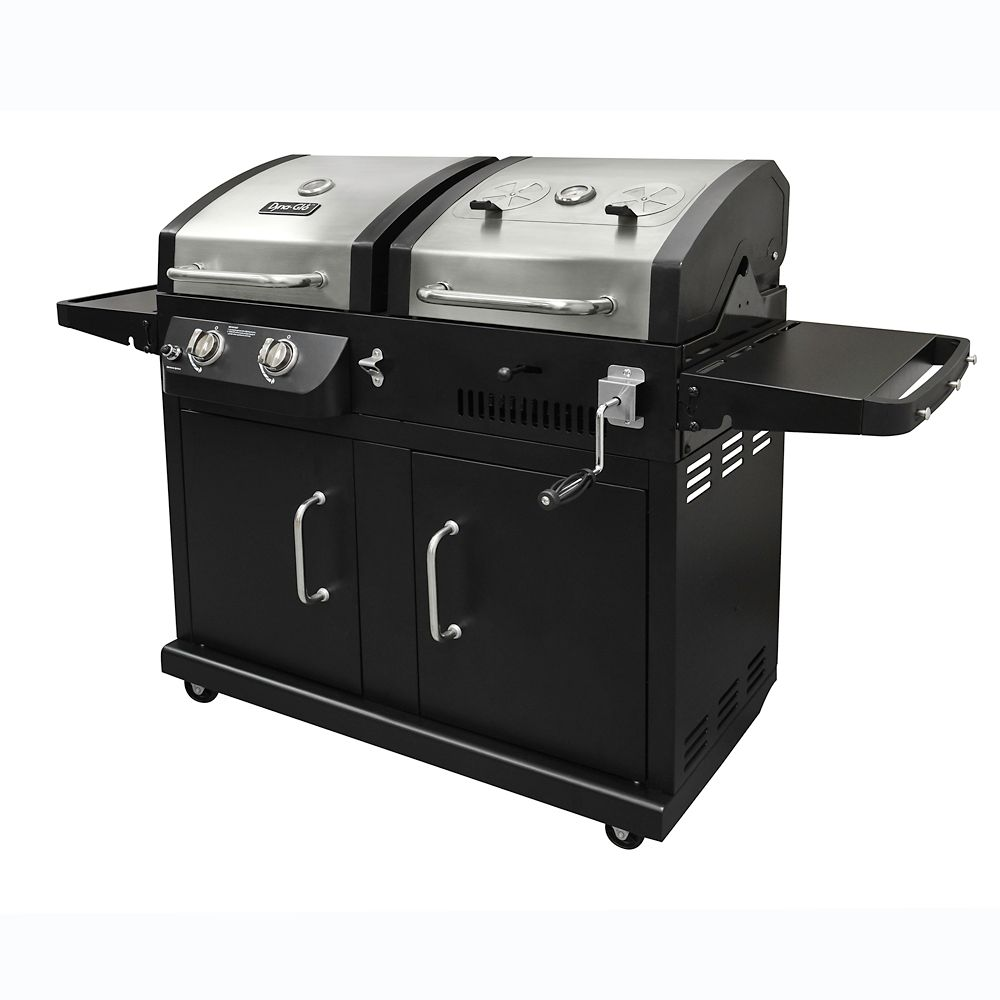 Dual Fuel BBQ (LP Gas and Charcoal)