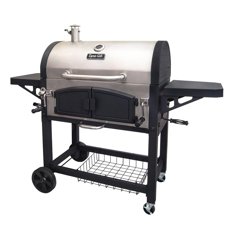 Dual Chamber Charcoal BBQ