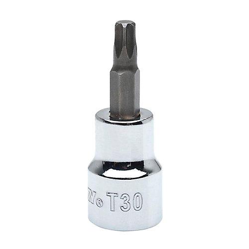 T30 Torx 3/8-inch Drive Bit Socket