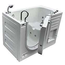 Homeward Bath Lavish Walk-In Whirlpool Bathtub with Thermostatic Controls