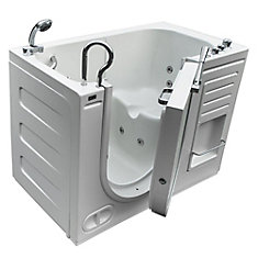 Lavish Walk-In Whirlpool Bathtub with Thermostatic Controls