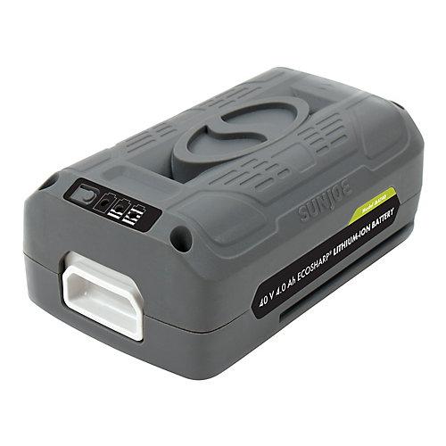 Batterie au lithium-ion EcoSharp 40 V iON