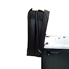 Top Mount Hot Tub Cover Lifter with Towel Holder