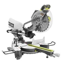 RYOBI 15-Amp 10-inch Corded Sliding Mitre Saw with Laser