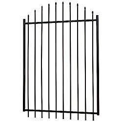 MEDALLION FENCE 60 Inch X 48 Inch Aristocrat Arched Gate