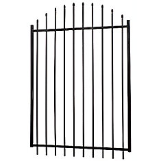 60 Inch X 48 Inch Aristocrat Arched Gate