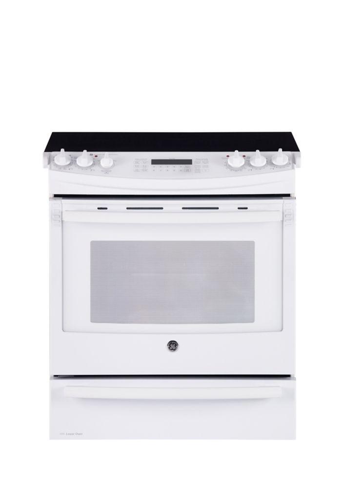 general electric cuisini re blanc lectrique encastrable. Black Bedroom Furniture Sets. Home Design Ideas