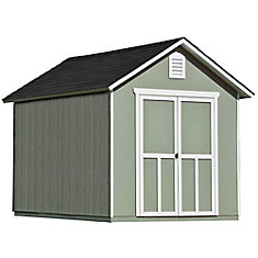 8 ft. x 10 ft. Meridian Shed