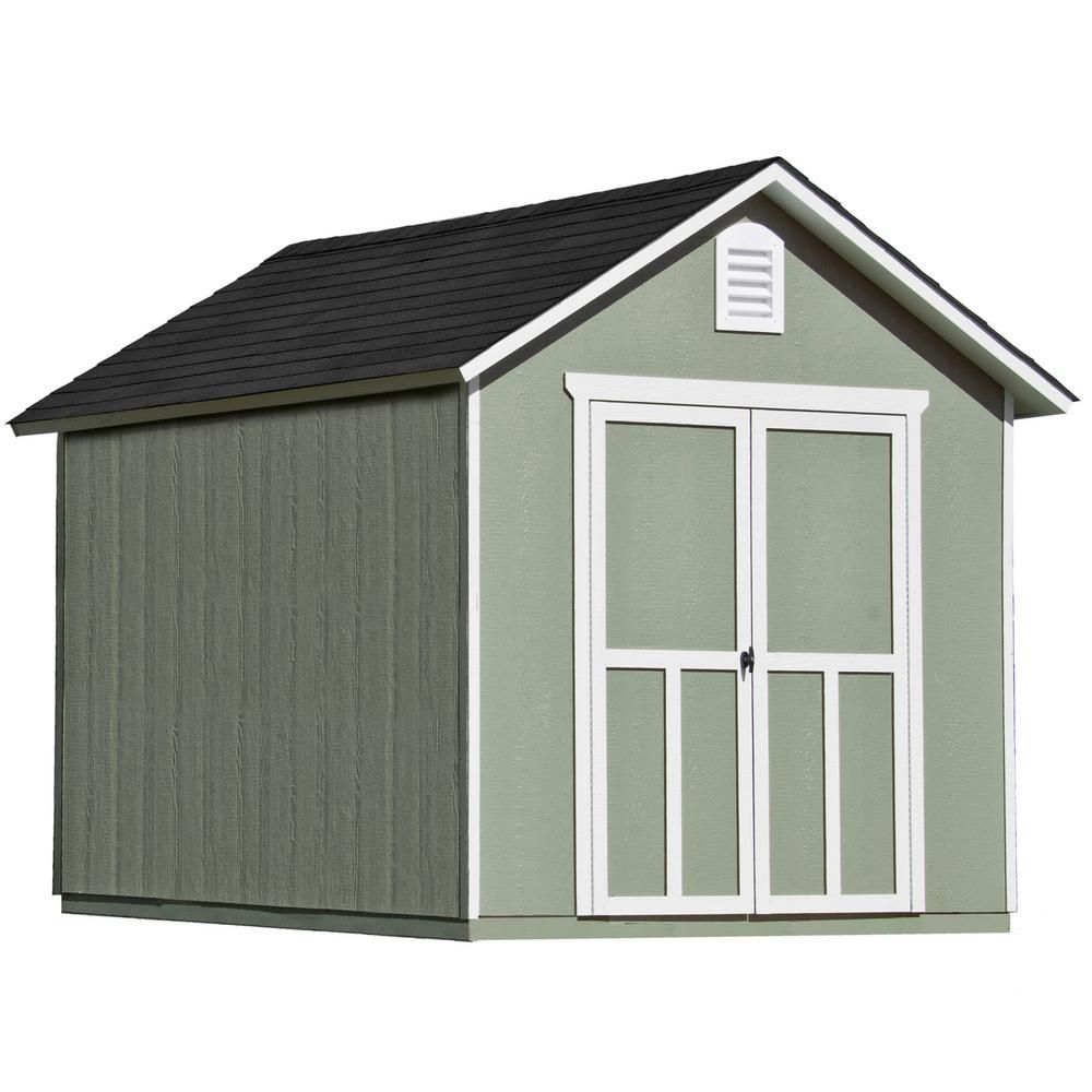 8 ft. x 10 ft. Meridian Shed with Floor