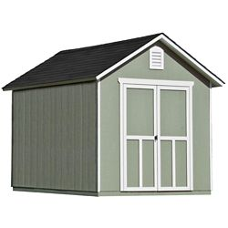 Handy Home Products 8 ft. x 10 ft. Meridian Shed with Floor