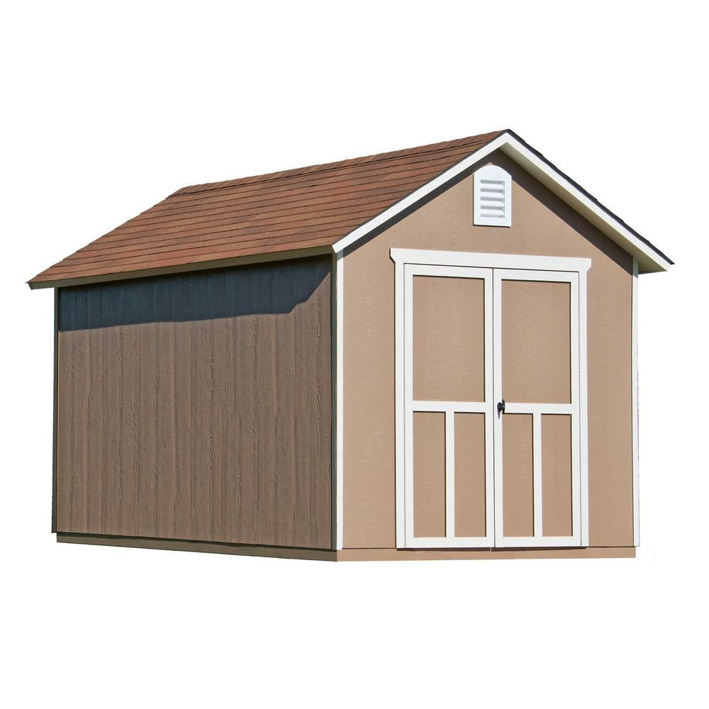 8 ft. x 12 ft. Meridian Shed