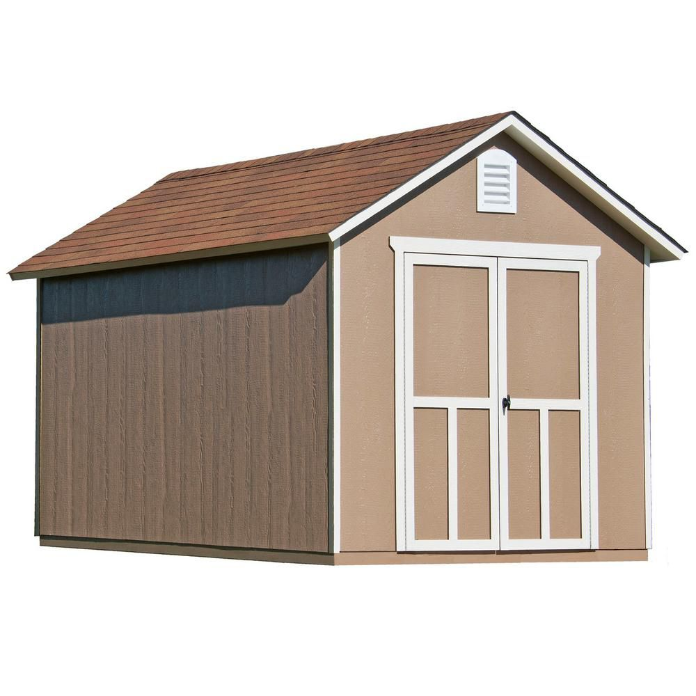 8 ft. x 12 ft. Meridian Shed with Floor