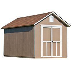 Handy Home Products 8 ft. x 12 ft. Meridian Shed with Floor