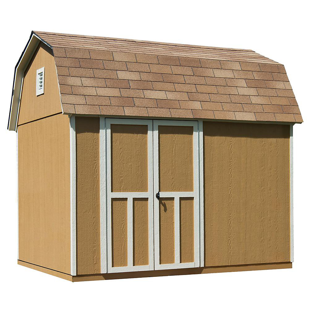 10 ft. x 8 ft. Briarwood Shed