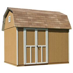 Handy Home Products 10 ft. x 8 ft. Briarwood Shed