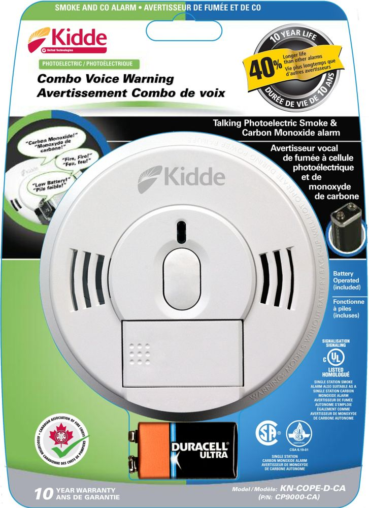 Combination Photolectric Alarm, Battery Operated
