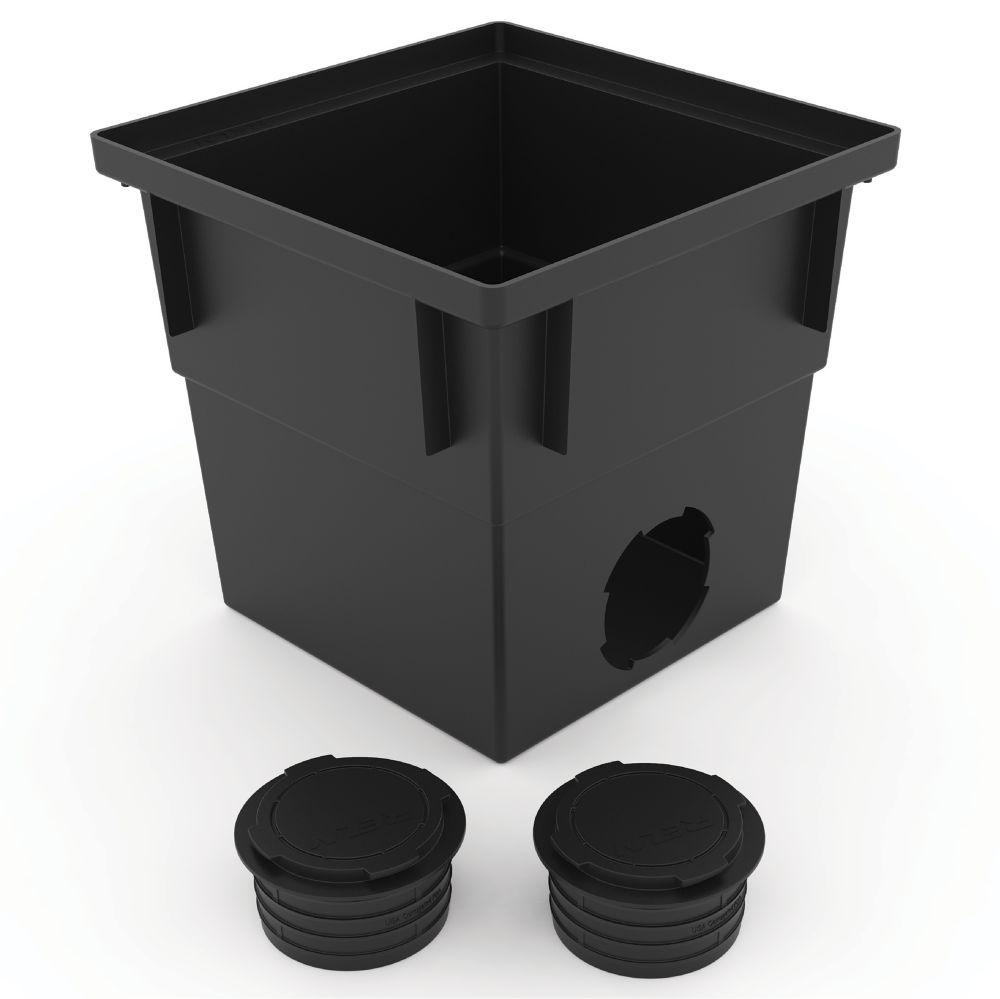 Puisard  traditionnel de 12 po, peut être utilise avec un tuyau en PVC et ondulé de 3 po ou 4 po