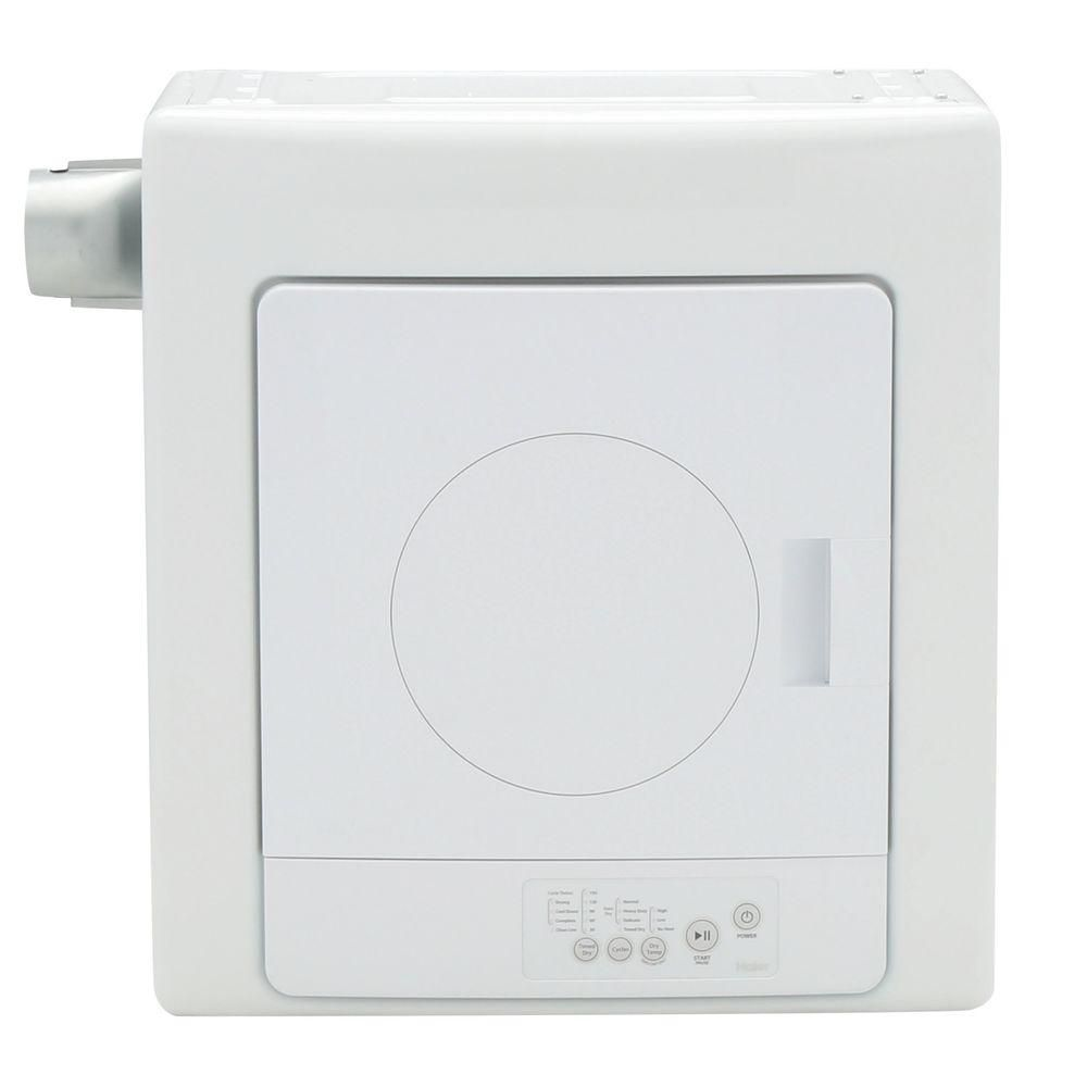 2.6 cu. ft. Portable Electric Vented Dryer in White
