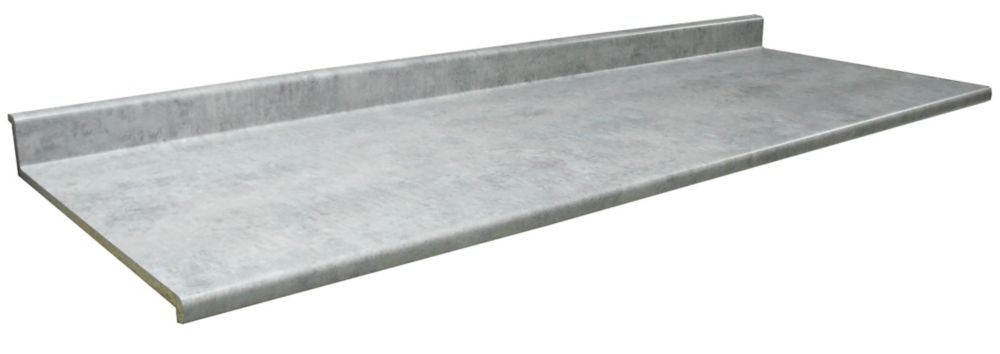 Kitchen Countertop, Profile 2300 , Elemental Concrete 8830-58, 25.5 inches x 120 inches