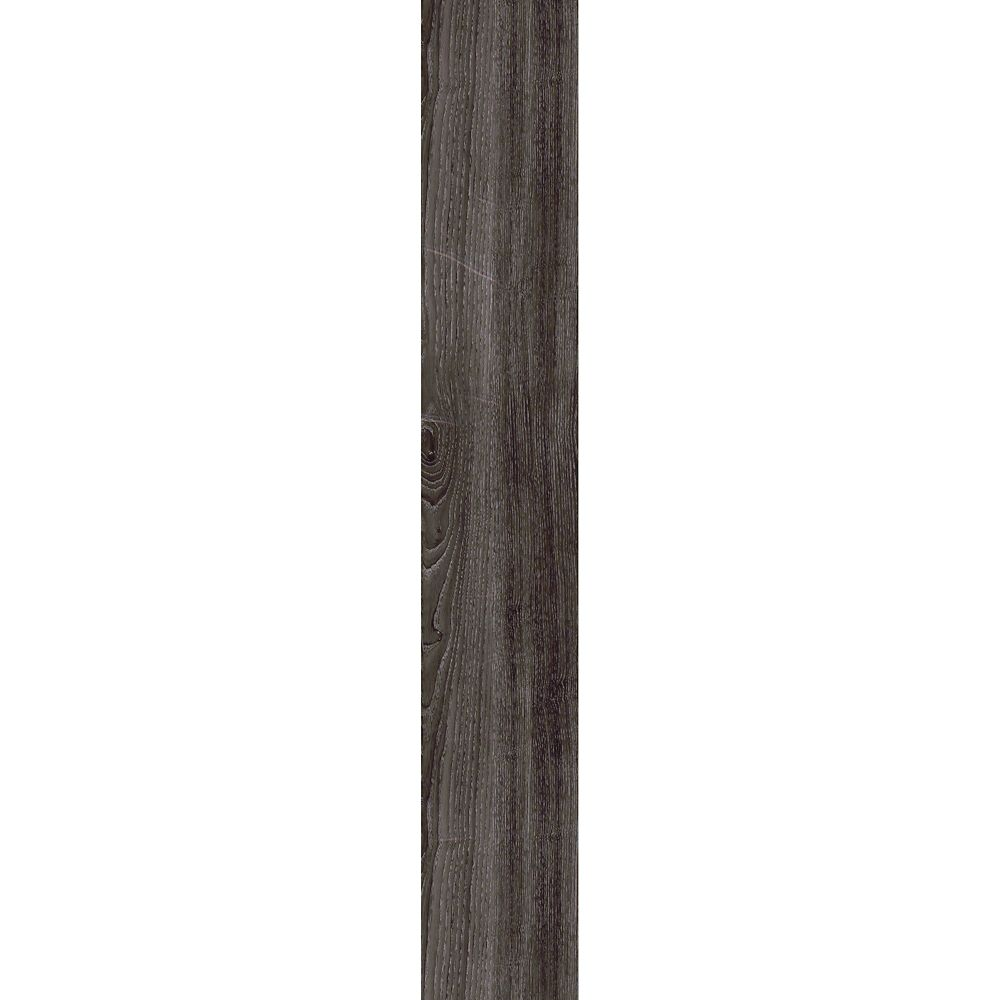 7.5 in. x 47.6 in. Aspen Oak Black Vinyl Plank Flooring (19.8 sq. ft./case)