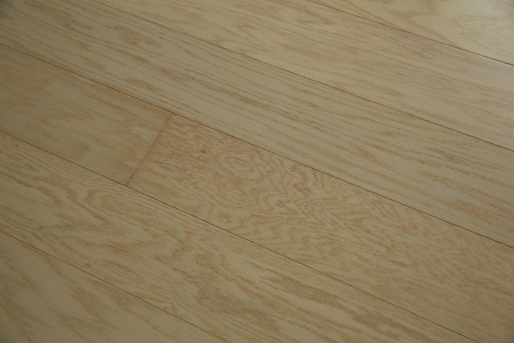 Red Oak Milk Engineered Hardwood Flooring