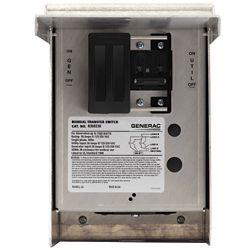 Generac 30 Amp 125/250-Volt 7,500-Watt 1-Circuit Manual Transfer Switch