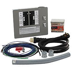 Generac Trousse de commutateur/converteur de génératrice de 50A pour 12 à 16 circuits, réservé à un usage intérieur