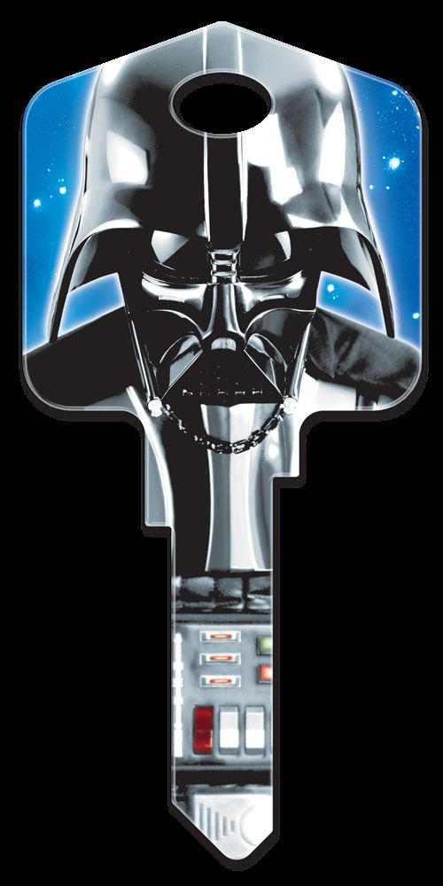 Star Wars Darth Vader Key Blank  - KW1