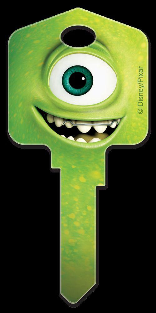 Disney Mike & Sulley Key Blank - KW1