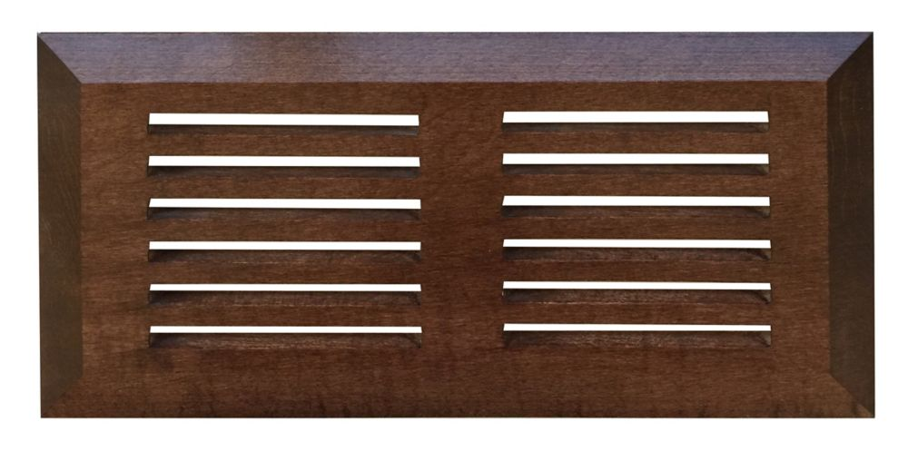 Finium Maple Tuscany top mount vent 4-inch x 10-inch