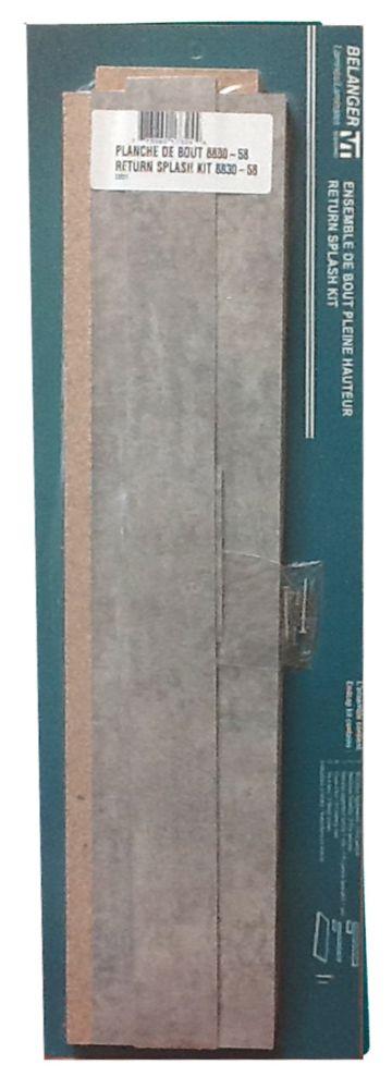 Return Splash Kit 25.25 inches Elemental Concrete 8830-58 23931 Canada Discount
