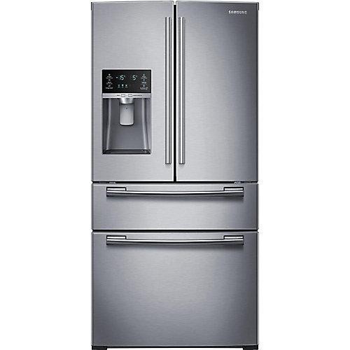 25 cu. ft. 3-Door French Door Refrigerator in Stainless Steel - ENERGY STAR®