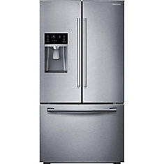 36-inch 28 cu. ft. French Door Bottom Freezer Refrigerator in Stainless Steel with CoolSelect Pantry - ENERGY STAR®