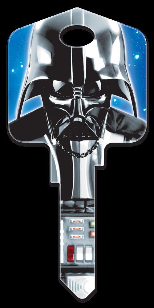 Star Wars Darth Vader Key Blank  - WR3