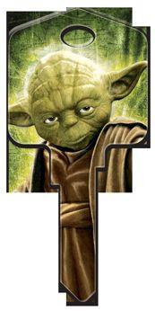Star Wars Yoda Key Blank - WR3