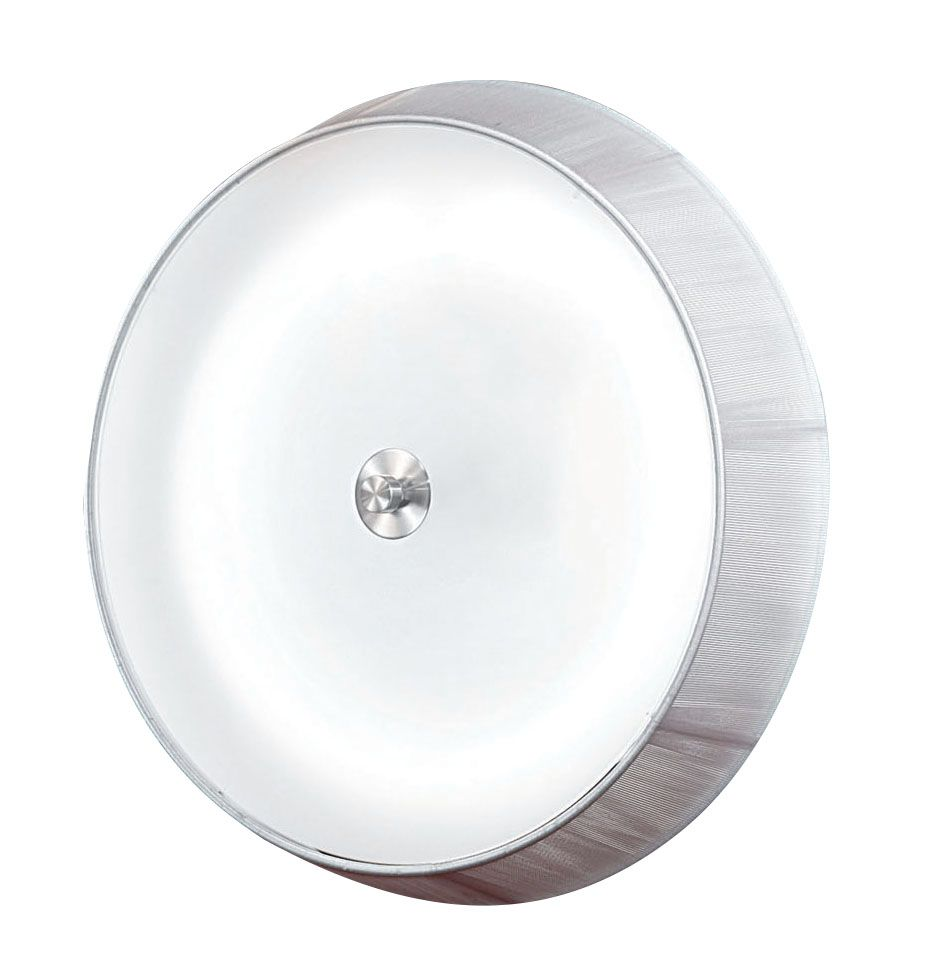 RICARDA Ceiling Light 1L, White Finish, Frosted Glass