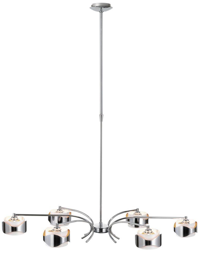 FREERIDE Suspension 6L, fini chrome, blanc et orange