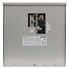 200-Amp 12,500-Watt Non-Fuse Outdoor Manual Transfer Switch