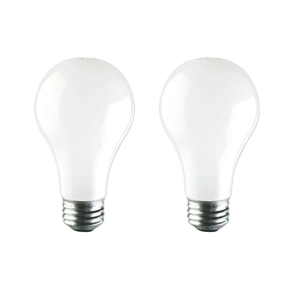 EcoVantage Ampoule éconergétique-Halogène Usage domestique 72 W= 100 W Blanc Doux 2/paq.