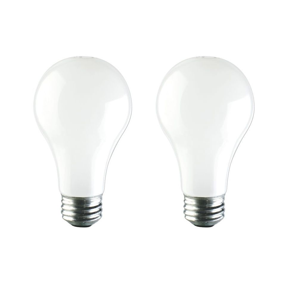 Halogen 100W A-line(A19) Soft White 2 Pack