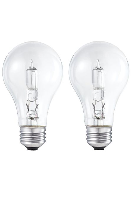 Halogen 100W A-line (A19) Clear 2 Pack