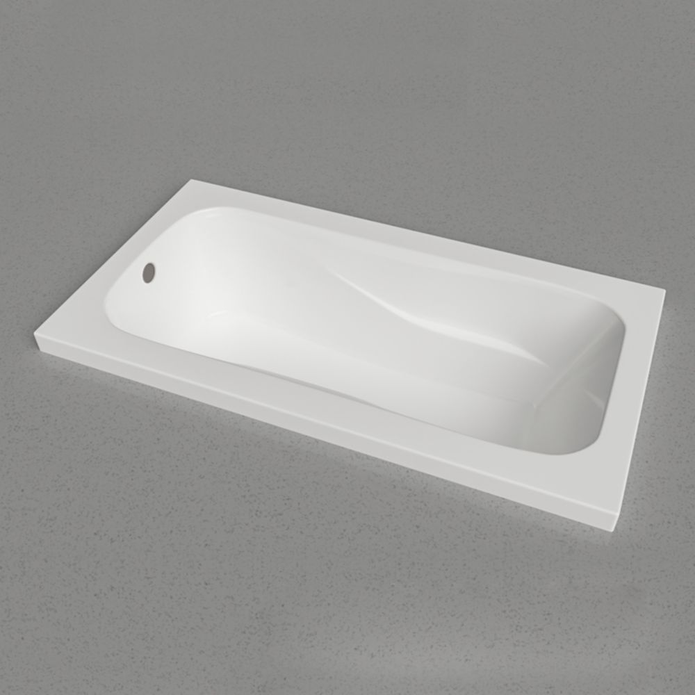 PRO 60 X 32 pouces de dépose dans la baignoire