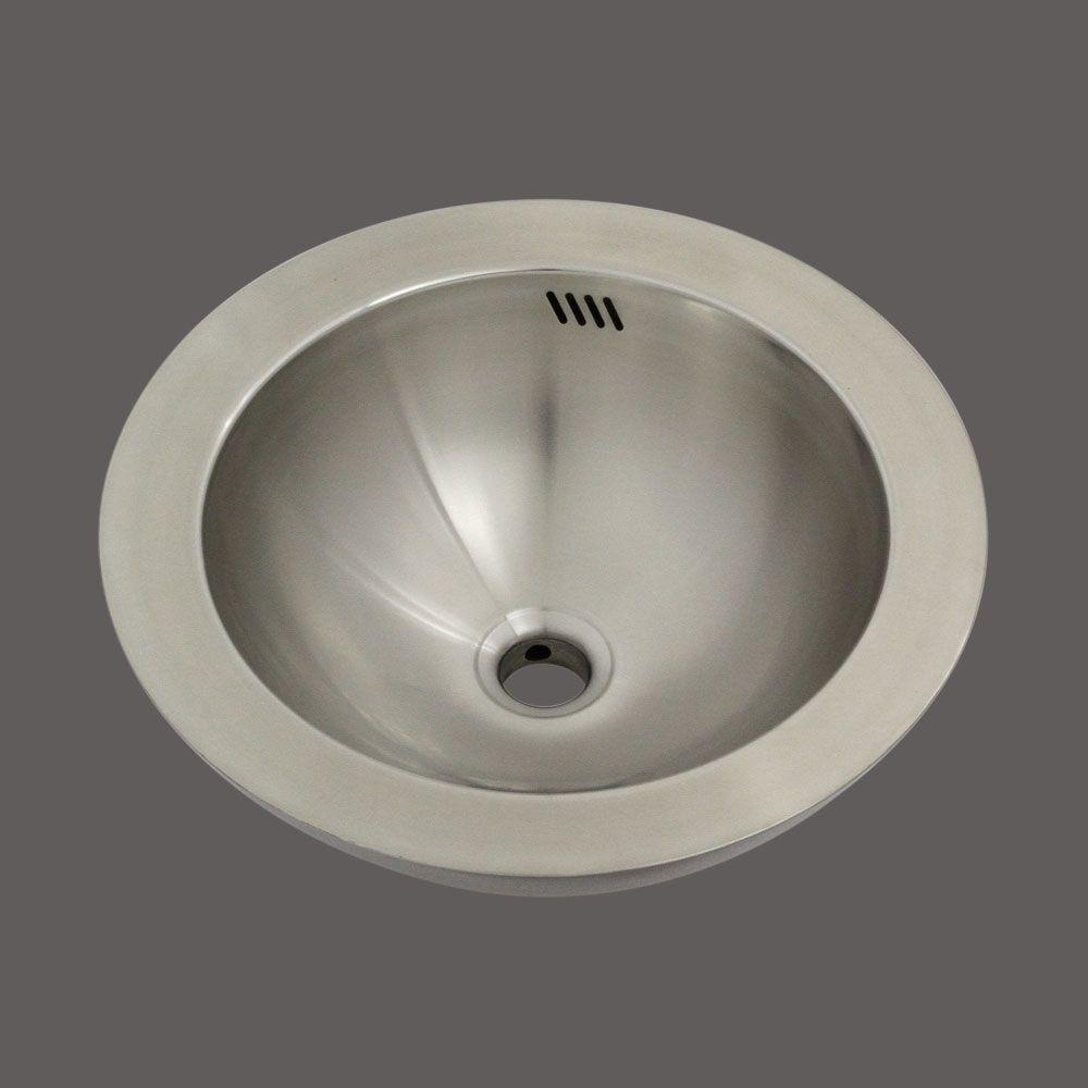 ZORA Vessel Sink in Stainless Steel