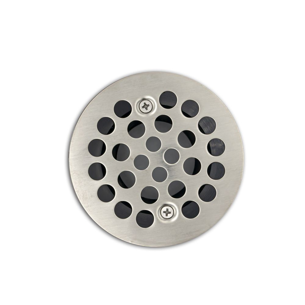 Brushed Nickel Shower Drain