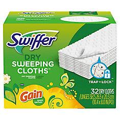Swiffer Dry 32ct Refills W/Gain