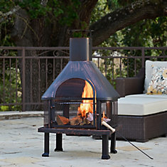 Outdoor Fireplaces The Home Depot Canada